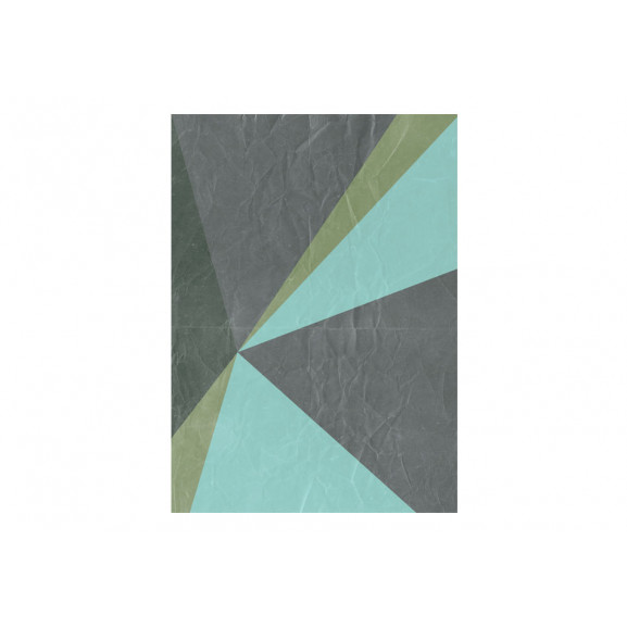 Fototapet Gray Triangles 50 cm x 1000 cm naturlich.ro