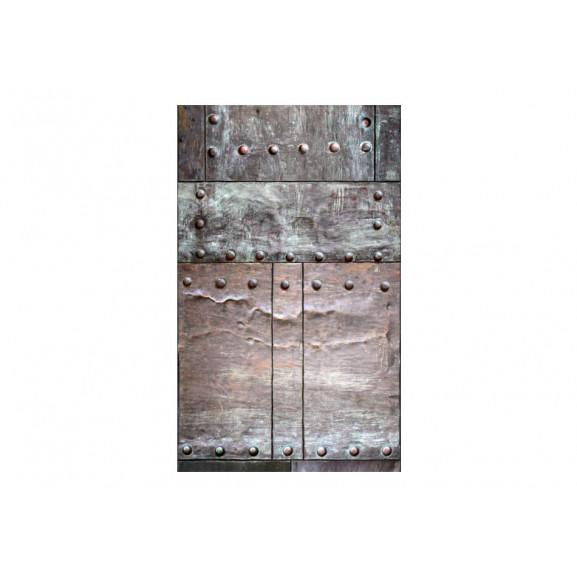Fototapet Brass Wall 50 cm x 1000 cm naturlich.ro