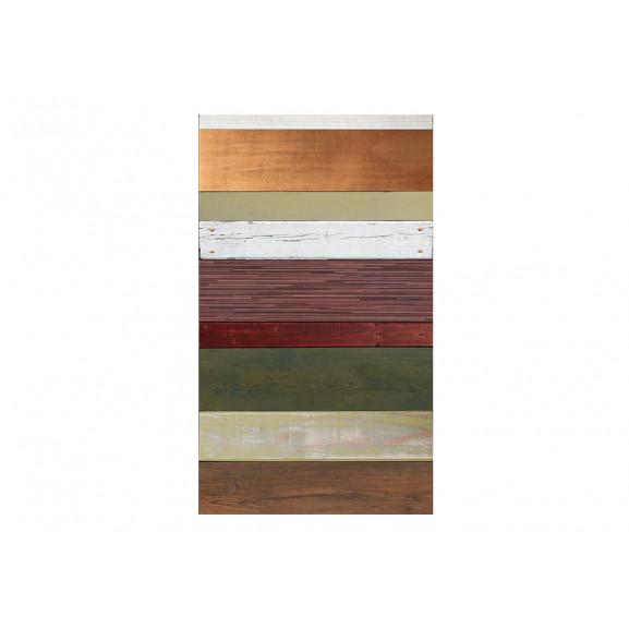 Fototapet Rainbow-Colored Wood Tones 50 cm x 1000 cm naturlich.ro