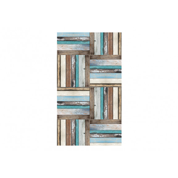Fototapet Wooden Weave Of Colors 50 cm x 1000 cm naturlich.ro