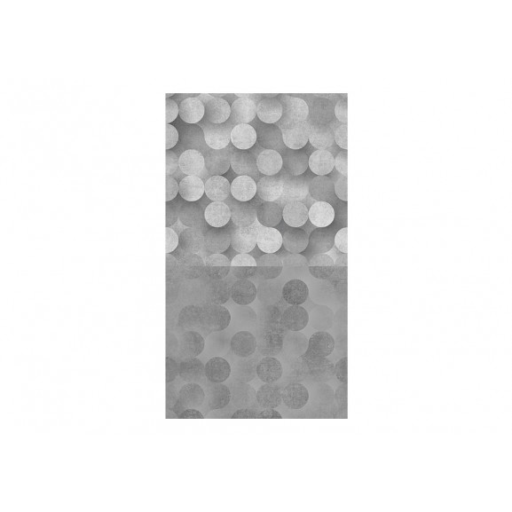 Fototapet Light Grey Rain 50 cm x 1000 cm naturlich.ro