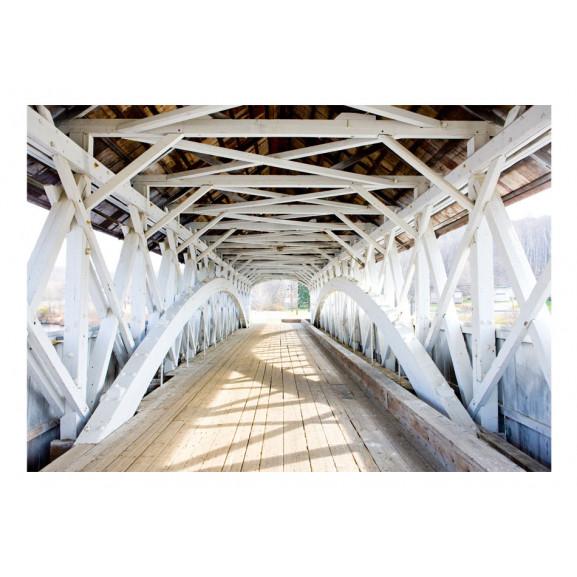 Fototapet Old Bridge 100 cm x 70 cm naturlich.ro