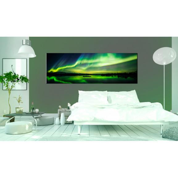 Tablou Green Sky 120 cm x 40 cm naturlich.ro