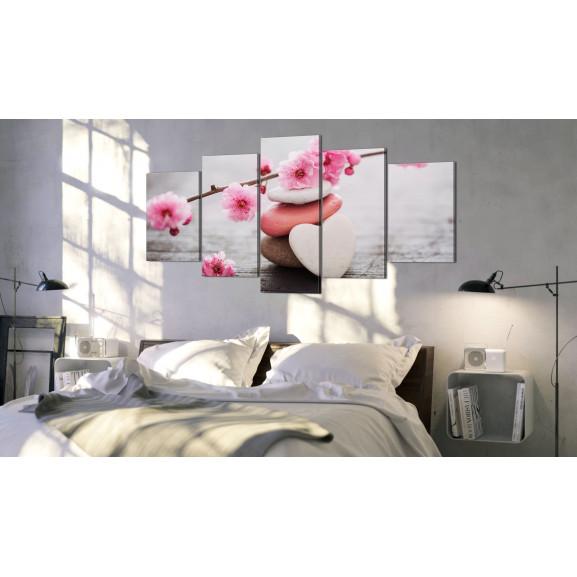 Tablou Zen: Cherry Blossoms Iii 100 cm x 50 cm naturlich.ro