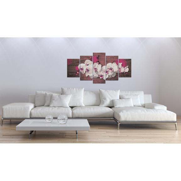 Tablou Joy And Orchid 100 cm x 50 cm naturlich.ro