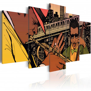 Tablou Jazzy Nyc 100 cm x...