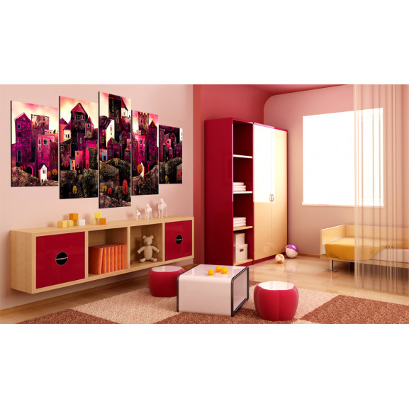 Tablou City Of Dreams 100 cm x 50 cm naturlich.ro