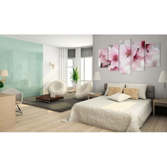 Tablou Cherry- Gentleness And Beauty 100 cm x 50 cm naturlich.ro