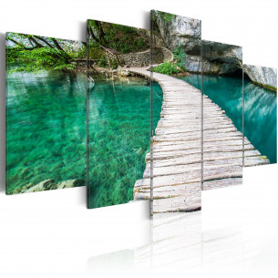 Tablou Turquoise Lake 100...