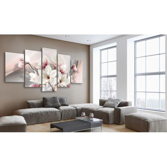Tablou Magnolia In Bloom 100 cm x 50 cm naturlich.ro