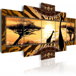 Tablou African Giraffes 100...
