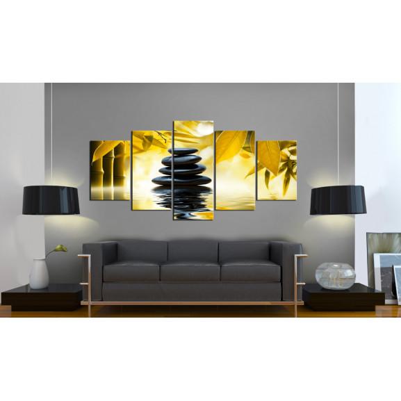 Tablou Safflower Relaxation 100 cm x 50 cm naturlich.ro