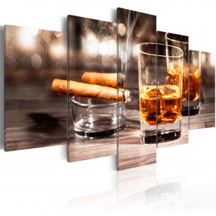 Tablou Cigar And Whiskey...