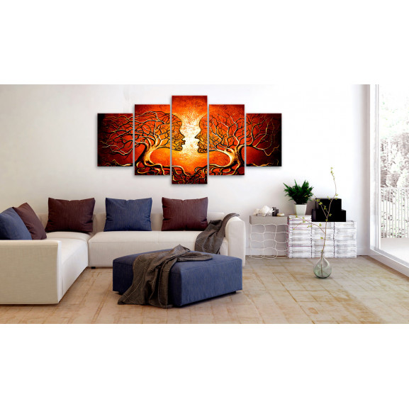 Tablou Heat Of Love 100 cm x 50 cm naturlich.ro