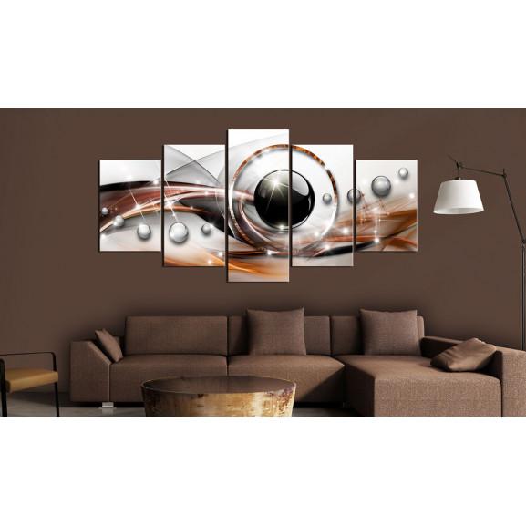 Tablou Abstract Gaze 100 cm x 50 cm naturlich.ro