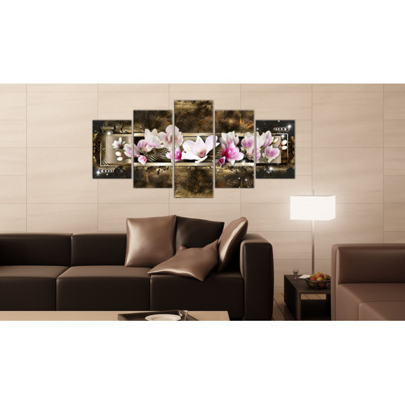 Tablou The Dream Of A Magnolia 100 cm x 50 cm naturlich.ro