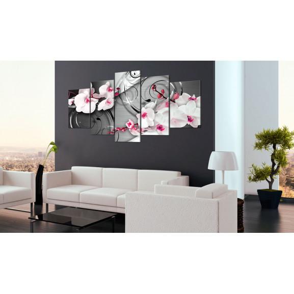 Tablou With Raspberry Accent 100 cm x 50 cm naturlich.ro