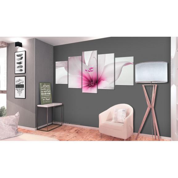 Tablou Amarylis: Pink Charm 100 cm x 50 cm naturlich.ro