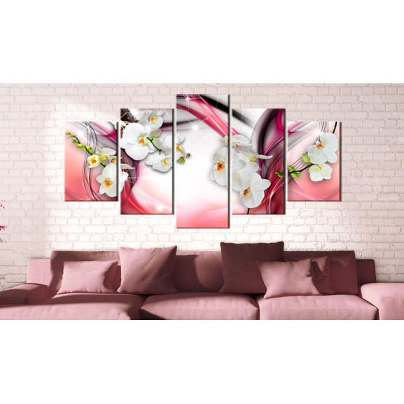 Tablou Pink Melody 100 cm x 50 cm naturlich.ro
