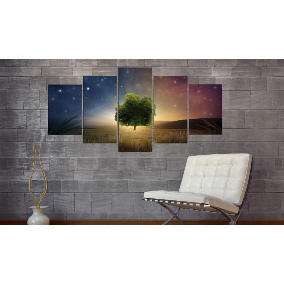 Tablou Starry Nights 100 cm x 50 cm naturlich.ro