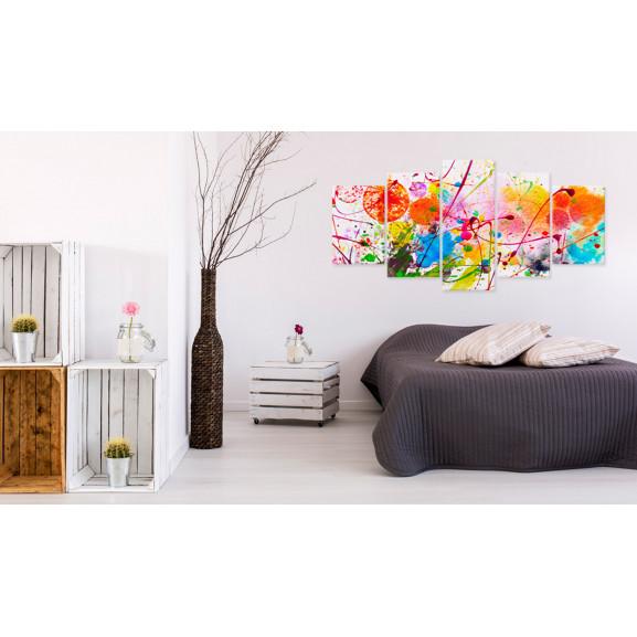 Tablou Summer Of Colours 100 cm x 50 cm naturlich.ro
