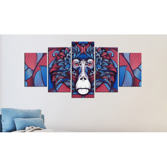 Tablou Magnetism Of The Look 100 cm x 50 cm naturlich.ro