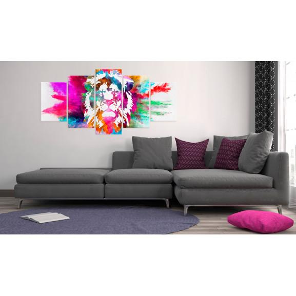 Tablou Colours Of The King 100 cm x 50 cm naturlich.ro