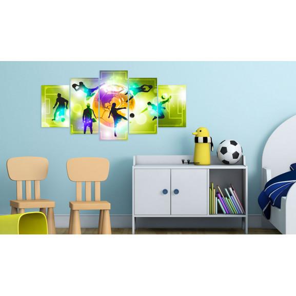 Tablou Energy Of The Game 100 cm x 50 cm naturlich.ro