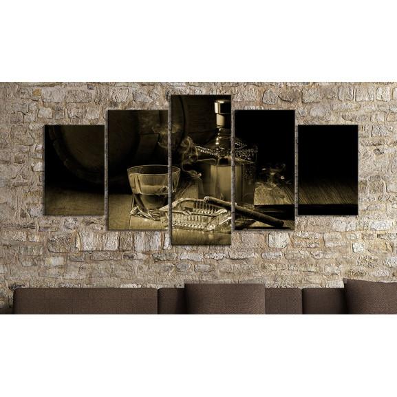Tablou Gentlemen'S Evening Ii 100 cm x 50 cm naturlich.ro