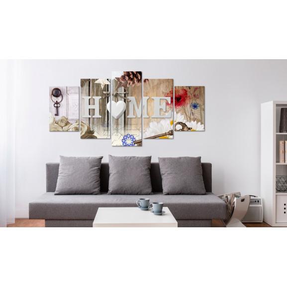 Tablou Home: Range Of Variety 100 cm x 50 cm naturlich.ro