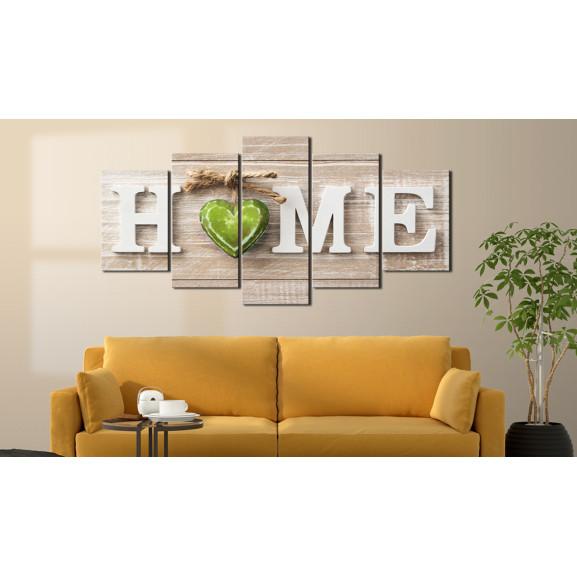 Tablou Home: Domestic Melody 100 cm x 50 cm naturlich.ro