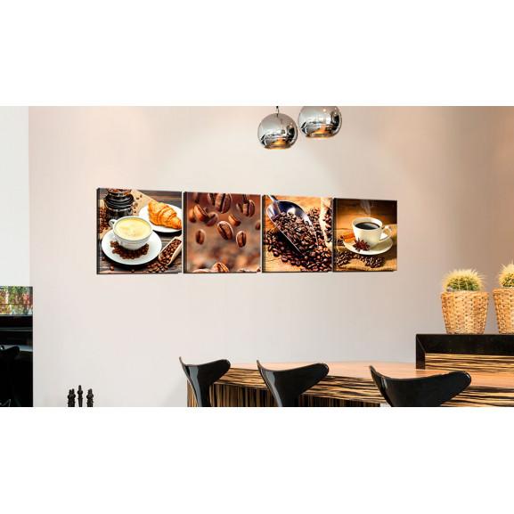 Tablou Morning Quartet 60 cm x 60 cm naturlich.ro