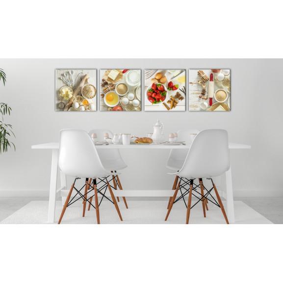 Tablou Sweet Kitchen 40 cm x 40 cm naturlich.ro