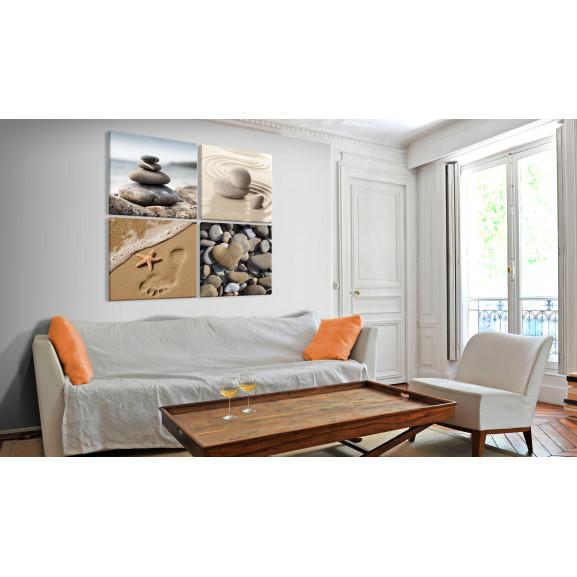 Tablou Marine Quartet 40 cm x 40 cm naturlich.ro
