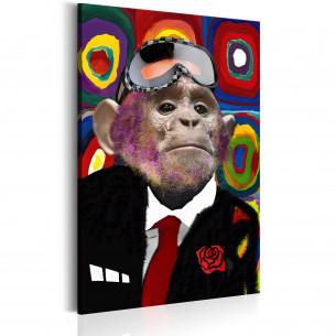 Tablou Mr. Monkey 60 cm x...
