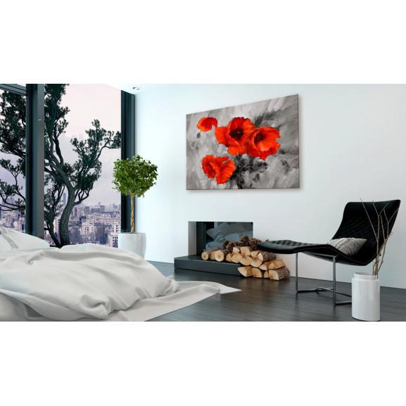 Tablou Steel Poppies 120 cm x 80 cm naturlich.ro