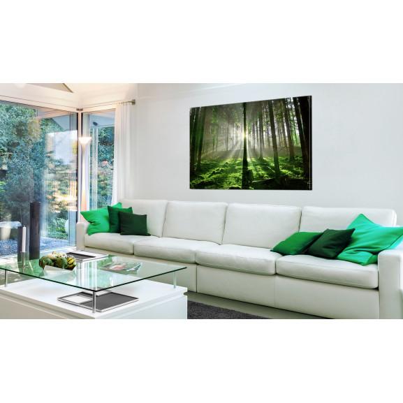 Tablou Emerald Forest Ii 120 cm x 80 cm naturlich.ro