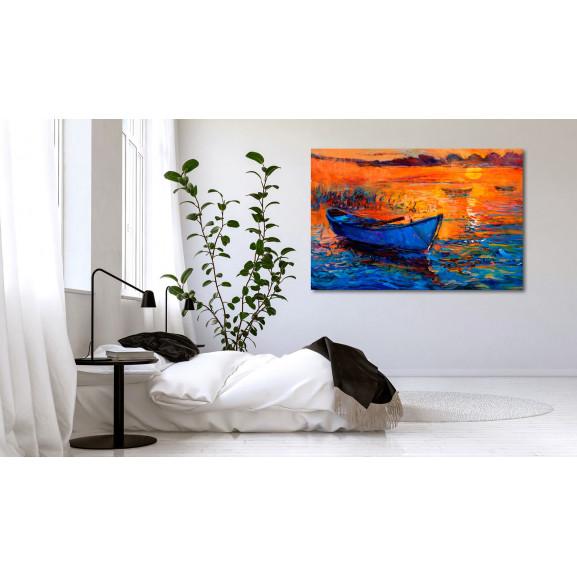 Tablou Lonely Journey 120 cm x 80 cm naturlich.ro