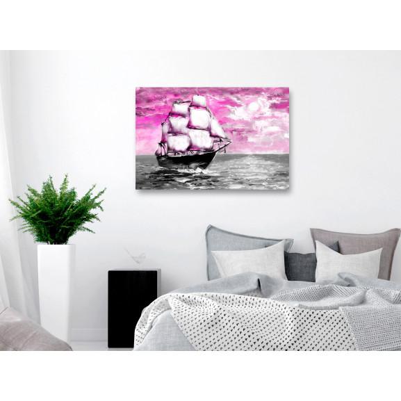Tablou Spring Cruise (1 Part) Wide Pink 120 cm x 80 cm naturlich.ro