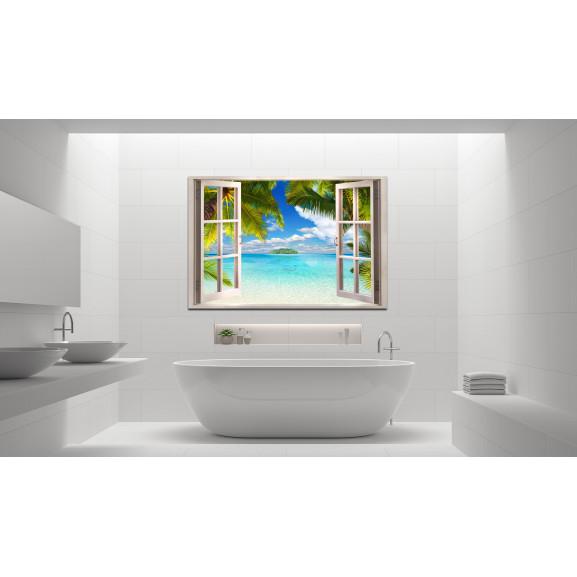 Tablou Window: Sea View 120 cm x 80 cm naturlich.ro