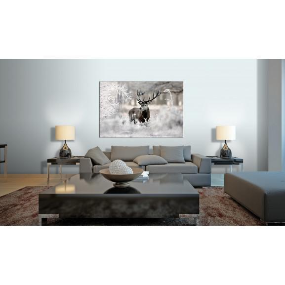 Tablou Lonely Deer 120 cm x 80 cm naturlich.ro