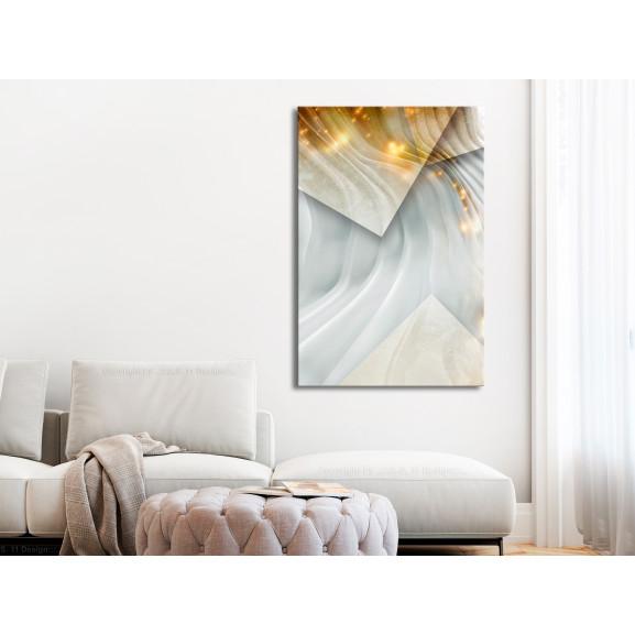 Tablou Cashmere Dimension (1 Part) Vertical 60 cm x 90 cm naturlich.ro