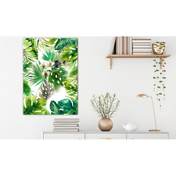 Tablou Tropical Shadow (1 Part) Vertical 40 cm x 60 cm naturlich.ro
