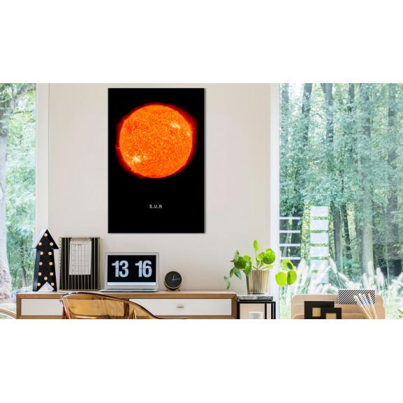 Tablou Sun (1 Part) Vertical 40 cm x 60 cm naturlich.ro