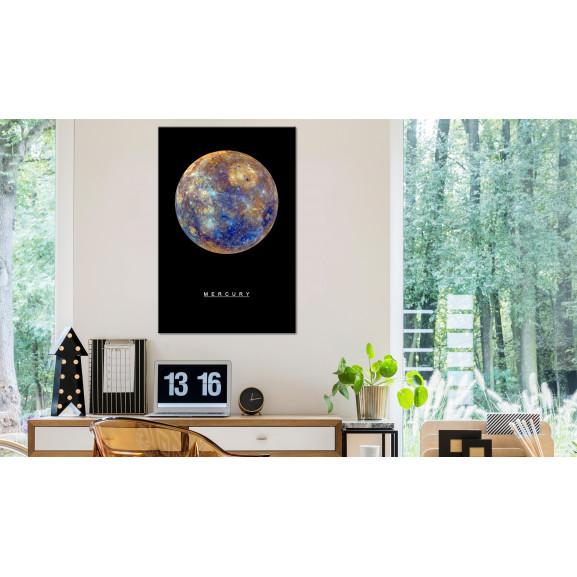 Tablou Mercury (1 Part) Vertical 40 cm x 60 cm naturlich.ro