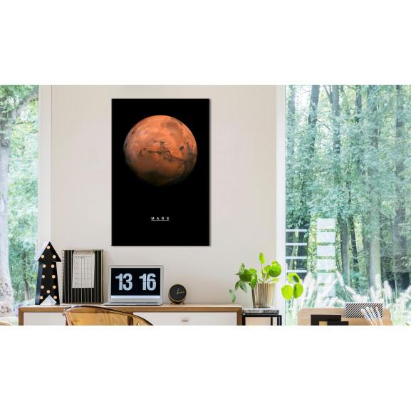Tablou Mars (1 Part) Vertical 40 cm x 60 cm naturlich.ro
