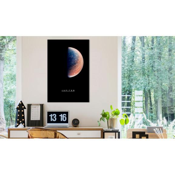 Tablou Jupiter (1 Part) Vertical 40 cm x 60 cm naturlich.ro