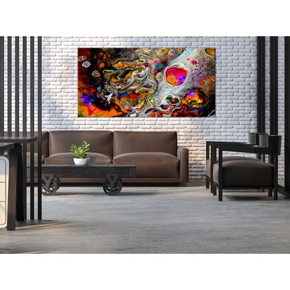Tablou Paint Universe (1 Part) Wide 120 cm x 60 cm naturlich.ro
