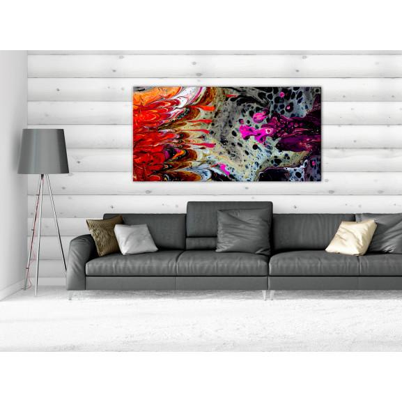 Tablou Paint Fusion (1 Part) Wide 120 cm x 60 cm naturlich.ro