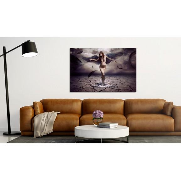 Tablou Black Angel 120 cm x 80 cm naturlich.ro